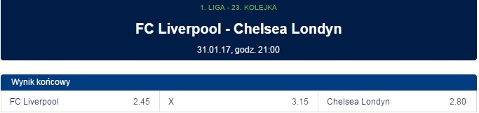 Liverpool FC Chelsea Londyn forbet